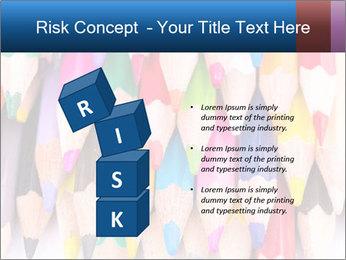 Colour pencils PowerPoint Template - Slide 81