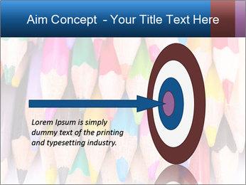 Colour pencils PowerPoint Template - Slide 83