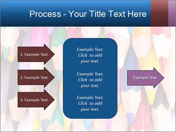 Colour pencils PowerPoint Template - Slide 85