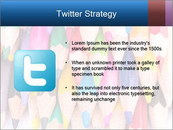 Colour pencils PowerPoint Templates - Slide 9