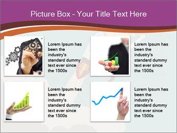 Cartoon hero PowerPoint Template - Slide 14
