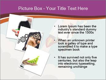 Cartoon hero PowerPoint Template - Slide 17