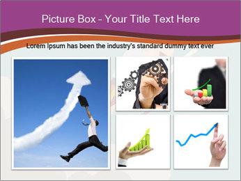 Cartoon hero PowerPoint Template - Slide 19