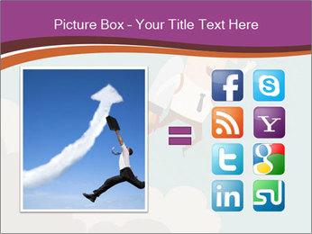 Cartoon hero PowerPoint Template - Slide 21