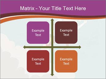 Cartoon hero PowerPoint Template - Slide 37
