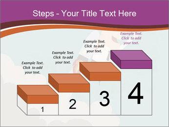 Cartoon hero PowerPoint Template - Slide 64