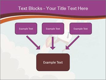 Cartoon hero PowerPoint Template - Slide 70
