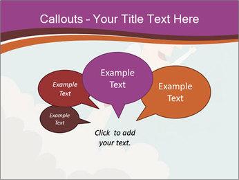 Cartoon hero PowerPoint Template - Slide 73