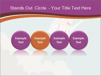 Cartoon hero PowerPoint Template - Slide 76
