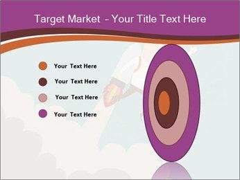 Cartoon hero PowerPoint Template - Slide 84