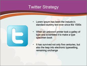 Cartoon hero PowerPoint Template - Slide 9