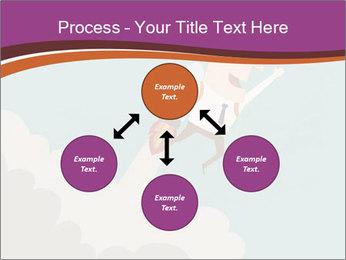 Cartoon hero PowerPoint Template - Slide 91