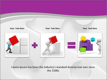Gray puzzle PowerPoint Templates - Slide 22