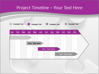 Gray puzzle PowerPoint Templates - Slide 25