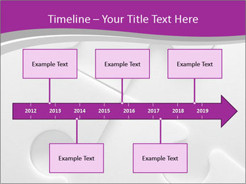 Gray puzzle PowerPoint Templates - Slide 28