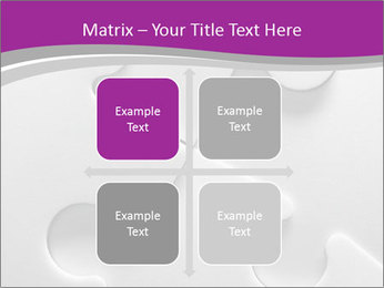 Gray puzzle PowerPoint Templates - Slide 37