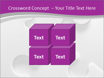 Gray puzzle PowerPoint Templates - Slide 39