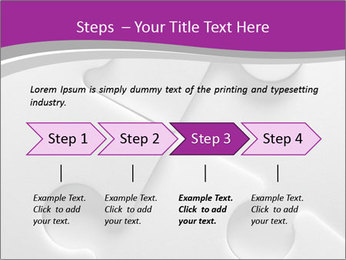 Gray puzzle PowerPoint Templates - Slide 4