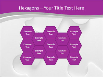 Gray puzzle PowerPoint Templates - Slide 44