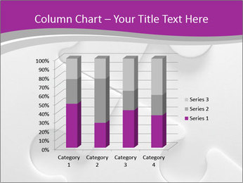 Gray puzzle PowerPoint Templates - Slide 50