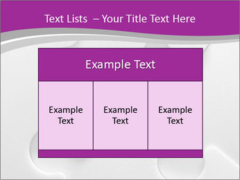 Gray puzzle PowerPoint Templates - Slide 59