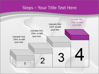 Gray puzzle PowerPoint Template - Slide 64
