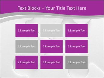 Gray puzzle PowerPoint Templates - Slide 68