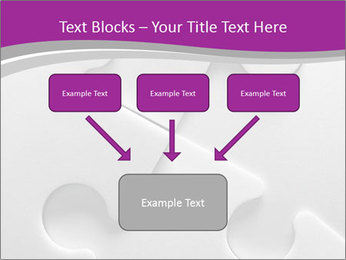 Gray puzzle PowerPoint Templates - Slide 70