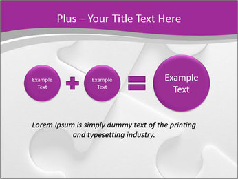 Gray puzzle PowerPoint Templates - Slide 75