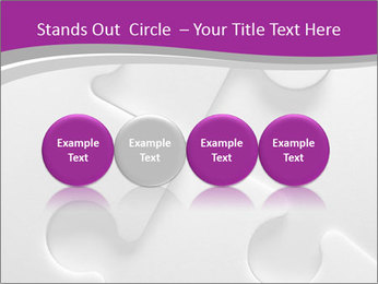 Gray puzzle PowerPoint Templates - Slide 76