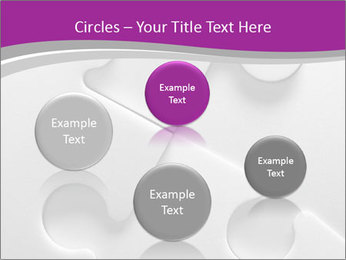 Gray puzzle PowerPoint Templates - Slide 77