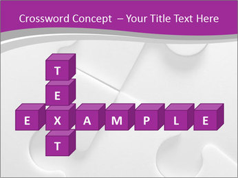 Gray puzzle PowerPoint Templates - Slide 82