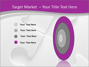Gray puzzle PowerPoint Templates - Slide 84