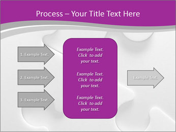 Gray puzzle PowerPoint Templates - Slide 85