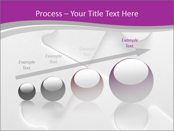 Gray puzzle PowerPoint Templates - Slide 87