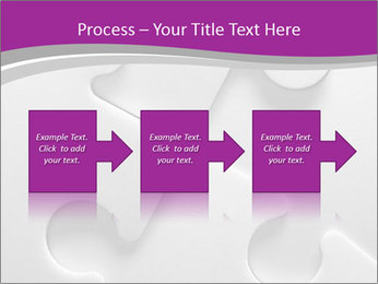 Gray puzzle PowerPoint Templates - Slide 88