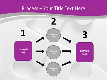 Gray puzzle PowerPoint Templates - Slide 92