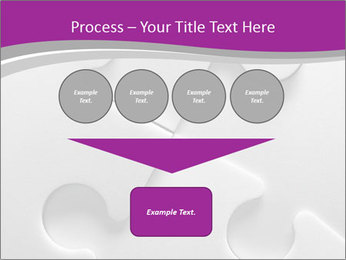 Gray puzzle PowerPoint Templates - Slide 93