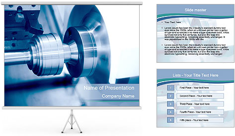 Lathe PowerPoint Template
