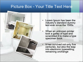 White Livingroom PowerPoint Templates - Slide 17
