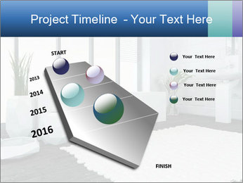 White Livingroom PowerPoint Templates - Slide 26