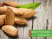 Organic Almonds PowerPoint Templates