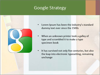 School Tablet PowerPoint Template - Slide 10