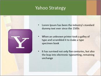School Tablet PowerPoint Template - Slide 11