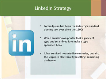 School Tablet PowerPoint Template - Slide 12