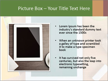 School Tablet PowerPoint Template - Slide 13