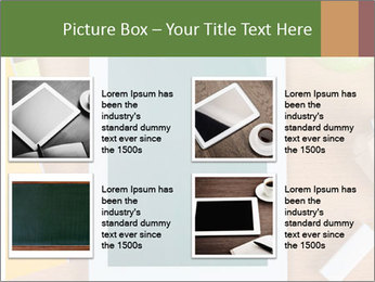 School Tablet PowerPoint Template - Slide 14