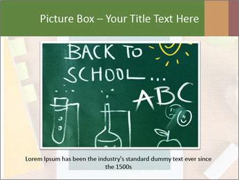 School Tablet PowerPoint Template - Slide 15