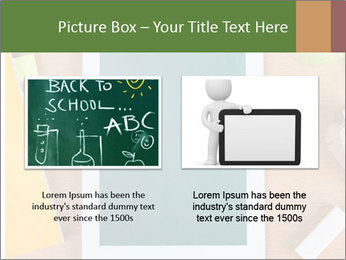 School Tablet PowerPoint Template - Slide 18