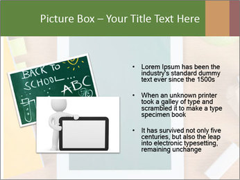 School Tablet PowerPoint Template - Slide 20